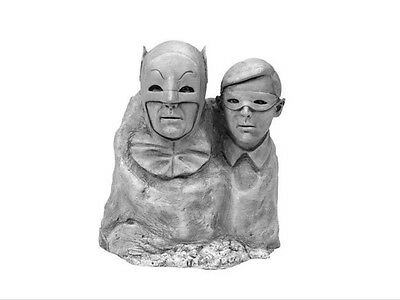 Batman 1966 TV Series Dynamic Duo Monolith bust