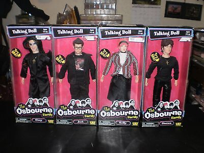 The Osbourne Family Talking Doll Set Fun 4 All 1992