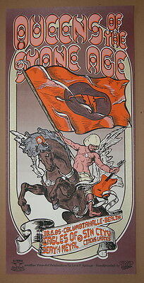 Queens Of The Stone Age - Eagles Death Metal - Lars P.krause - 2005 -Tour Poster