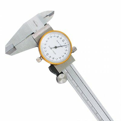 Professional Dial Caliper with 6 Inches Measuring Range Stainless Steel WithCase