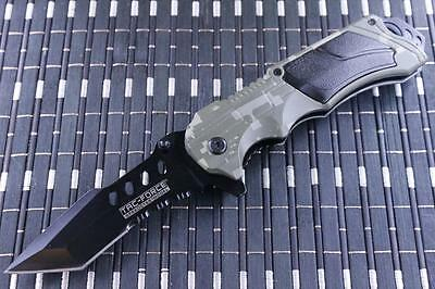 *CAN* Tactical Spring Assisted Blade folding Open Pocket Knife 690TC-TF