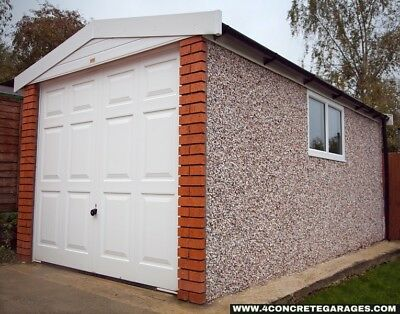 Deluxe Spar Apex Garage 8ft6in x 16ft3in installed *conditions apply £2,799