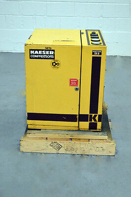 Kaeser Sx6 Rotary Screw Compressor ~ 21 Cfm @ 110 Psi ~ 3 Phase ~ 230/460 V