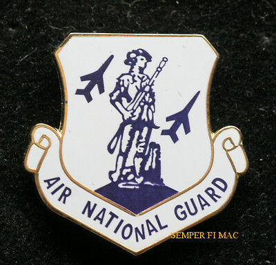 Air National Guard Ang Hat Lapel Pin Up Wing Us Army Navy Air Force Marines Gift