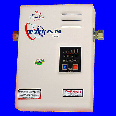 Titan Tankless N-120 Water Heater - New 2017 electric model with best price