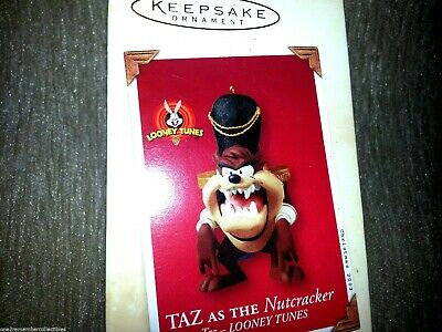 HALLMARK Keepsake 2003 TAZ AS THE NUTCRACKER Looney Tunes CHRISTMAS ORNAMENT New