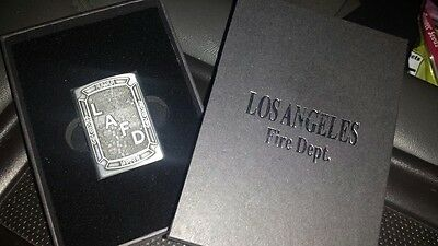 Los Angeles City Fire Department Zippo Lighter (belt buckle replica)