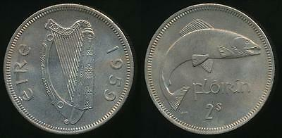 Ireland, Republic, 1959 Florin - Uncirculated