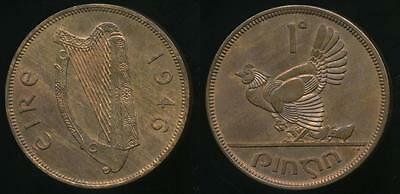 Ireland, Republic, 1946 One Penny, 1d - Uncirculated