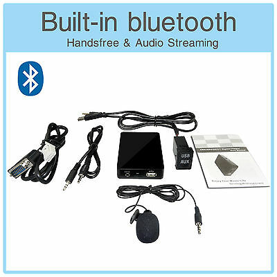 Bluetooth MP3 CD Changer Adapter + USB AUX Extension Cable - Toyota Auris Celica