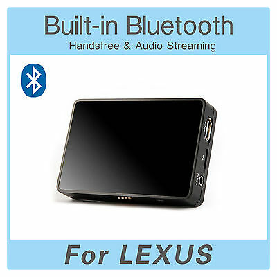 Bluetooth SD USB AUX MP3 Adapter + Extension Cable for Lexus IS 200 250 300 350