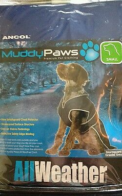 Ancol Stormguard Small All Weather  Dog Coat Showerproof Reflective Edge