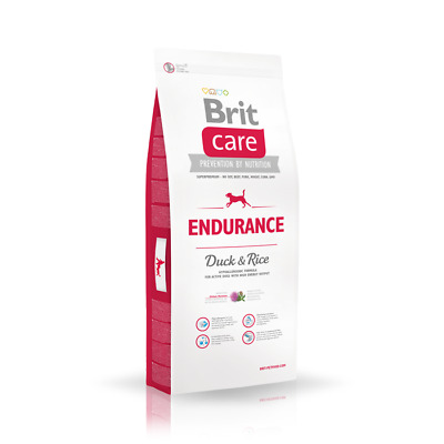 12kg Brit Care Endurance Duck & Rice Activity Hundefutter für aktive Hunde