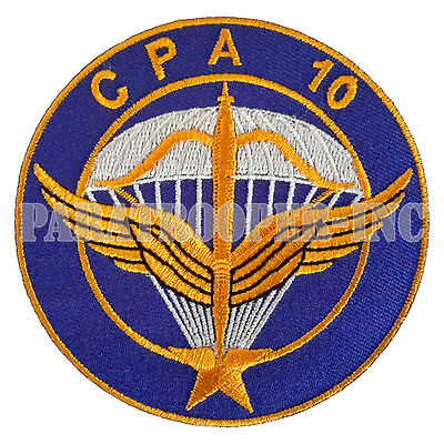 Ecusson / Patch - CPA 10 (Commando parachutiste de l'air n°10)