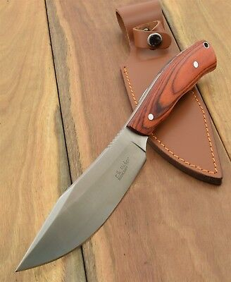 Elk Ridge FIXED BLADE KNIFE Bush Craft Skinner Hunting Camping Knives ER550LW