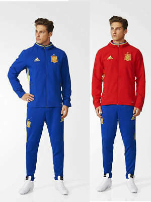 Spain Spanien Adidas Presentation Tracksuit Euro 2016 Men stretch ankle