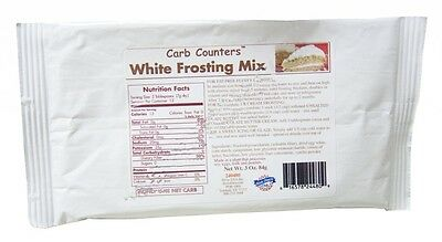 Dixie Carb Counters White Frosting Mix 84 g, Low Carb, Sugar Free