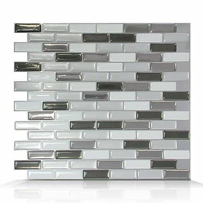 Smart Tiles SM1030-6 SM1030 Murano Metallik Self Adhesive Wall Tile