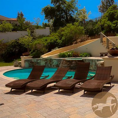 Best Selling Home Decor 253970 Toscana Outdoor Wicker Lounge Set