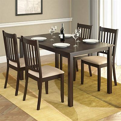 Sonax DRG-795-Z CorLiving Atwood Five Piece Dining Set