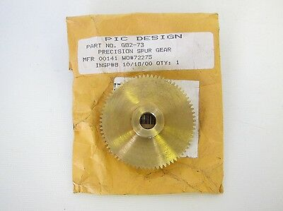 New PIC Design Precision Spur Gear 32 Pitch G82-73 G8273