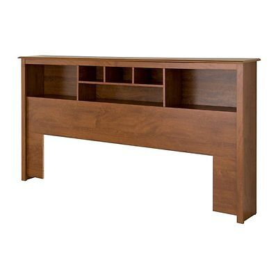 Prepac Furniture CSH-8445 Platform Storage King Bookcase Headboard