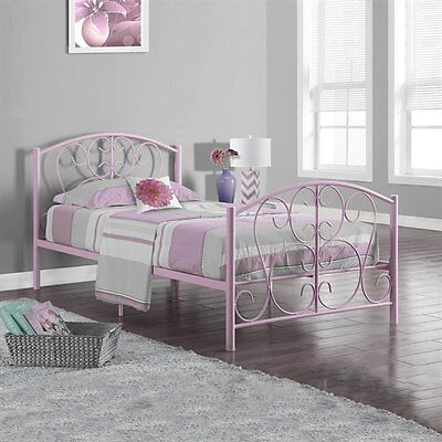 Monarch Specialties I 2390P Metal Twin Bed Frame
