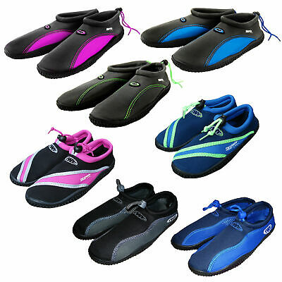 146030a024f9ba TWF Beach Aqua Shoes Mens Ladies Boys Girls Childs Adults Watersports Sea  Surf