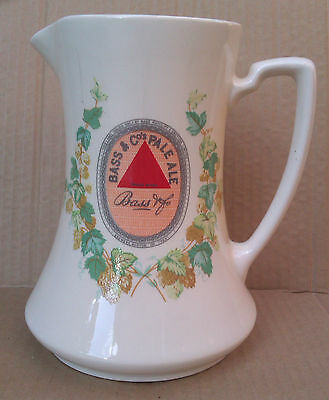 WADE - BASS & Co. PALE ALE JUG. MINTON REPRODUCTION.