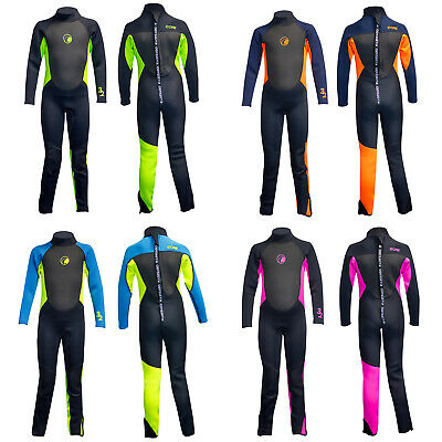 eecf7685c4 Odyssey Core 3 2mm Childs Kids Boys Girls Full Wetsuit Long Wet Suit Teen