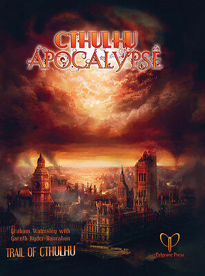 Trail of Cthulhu RPG: Cthulhu Apocalypse Hardcover IMP PELGT40