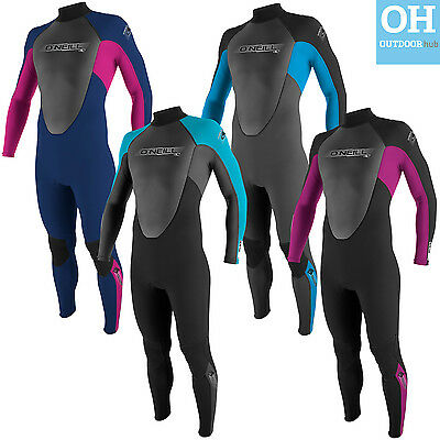 O'Neill Youth Reactor 3/2mm Full Kids Teen Wetsuit Childrens Steamer Boys Girls