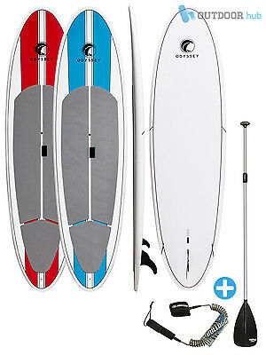 Odyssey Surf 10ft 6in Epoxy Stand Up Paddle Board SUP Deck Grip Pad & 3 Fins