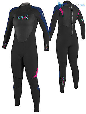 O'Neill 5/4mm Womens Epic Full Winter Wetsuit Blindstitch Ladies Steamer Surf