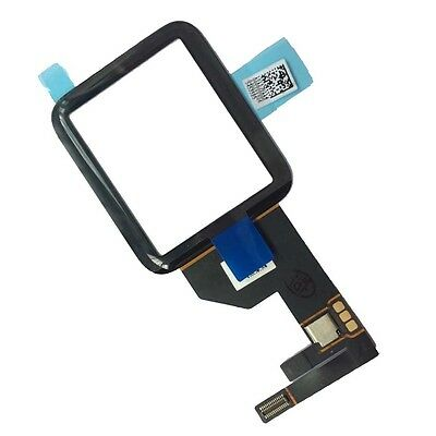 Black Front Glass Touch Screen Digitizer Replacement For Apple Watch 42mm