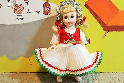 "Vintage Madame Alexander ""Hungary"" Doll, Sleepy Eyes from 1972"
