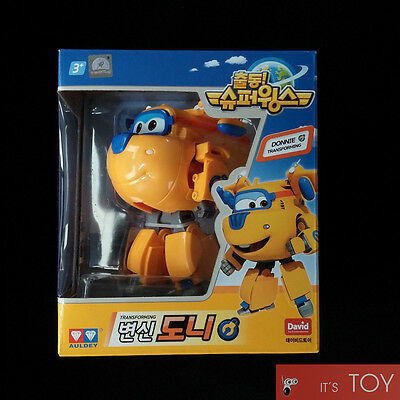 Super Wings DONNIE Transforming Plane Toys Figures TV Animation Series Auldey