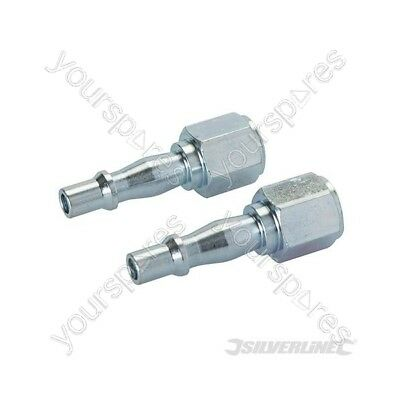 "Air Line Coupling Bayonet Female Thread 2pk - 1/4"" BSP"