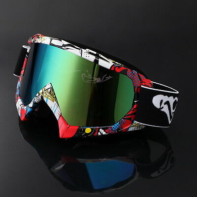 Solid Motocross MX Enduro Brille MTB Goggle Offroad Cross Anti-UV Bikerbrille