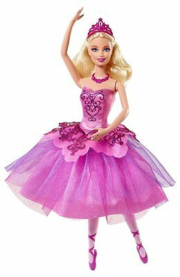 Barbie Doll Ballet in Pink Shoes Holiday Ballerina  BBM00  Kristyn Farraday New