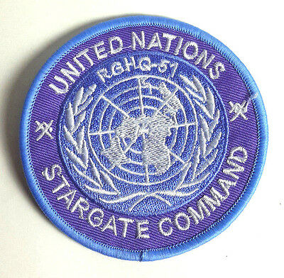 "Stargate United Nations Command Logo 3"" Uniform Patch-USA Mailed (SGPA-09)"