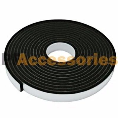 """1 Roll 2/3"""" x 16 FT Double Sided Foam Tape Faced Attachment Adhesive (Black)"""