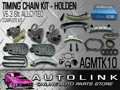 GENUINE HOLDEN TIMING CHAIN KIT FOR HOLDEN VE COMMODORE OMEGA 3.6lt V6 ALLOYTEC