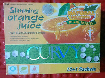 5 Boxes Leisure 18 CURVY Slimming Orange Juice Loss Weight  Fast Shipping KMX