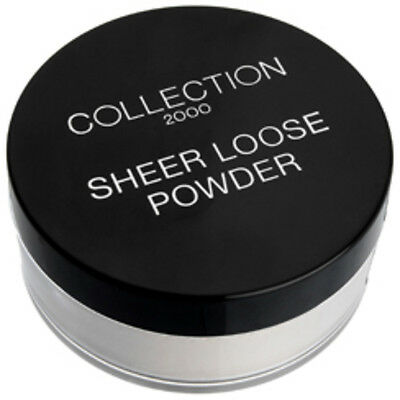 Collection 2000 Sheer Loose Powder 20g CHOOSE YOUR SHADE NEW / BN