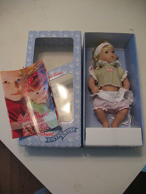 "Kathe Kruse Planscherle Elfenkind Germany Baby Doll 12"" Mint in Box 30803"