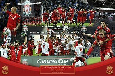 Liverpool FC Cup Winners 2012 - Maxi Poster 91.5cm x 61cm new and sealed