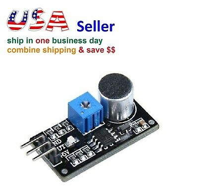 LM393 Sound Detection Sensor Module for Arduino Intelligent Vehicle