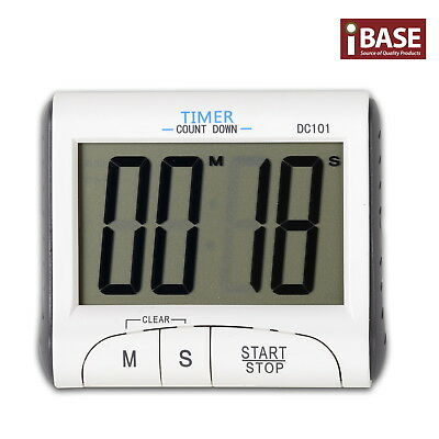Digital Clock Count Down Timer Magnetic Stick Cook Loud Alarm Kitchen Sport Lcd