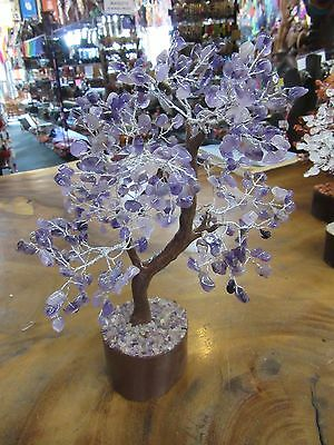 Amethyst Large Crystal Tree 23 cm Tall Reiki Metaphysical Feng Shui